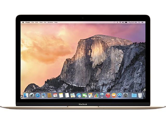 Apple Laptop MacBook MK4N2LL/A Intel Celeron M 5Y51 (1.10 GHz) 8 GB Memory 512 GB SSD Intel HD Graphics 5300 12.0