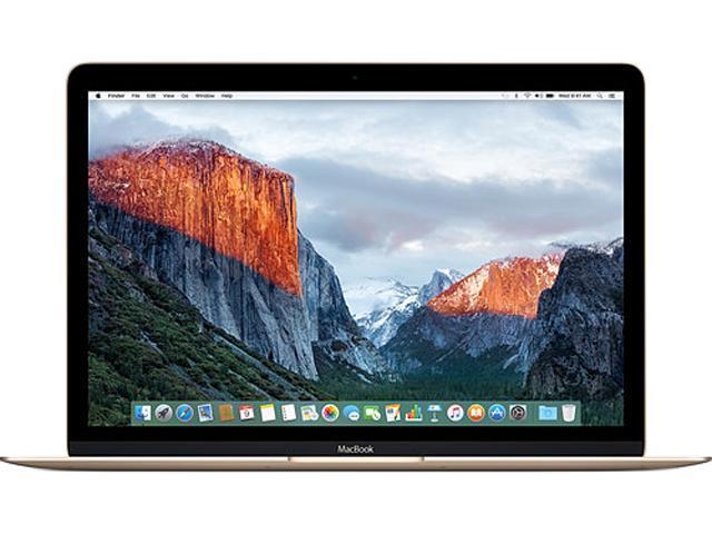 Apple Laptop MacBook MLHE2LL/A 1.10 GHz 8 GB Memory 256 GB SSD 12.0