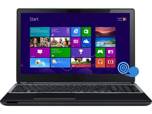 "Gateway Laptop NV570P10U Intel Core i5 1.80 GHz 4 GB Memory 500 GB HDD Intel HD Graphics 4000 15.6"" Touchscreen Windows 8"