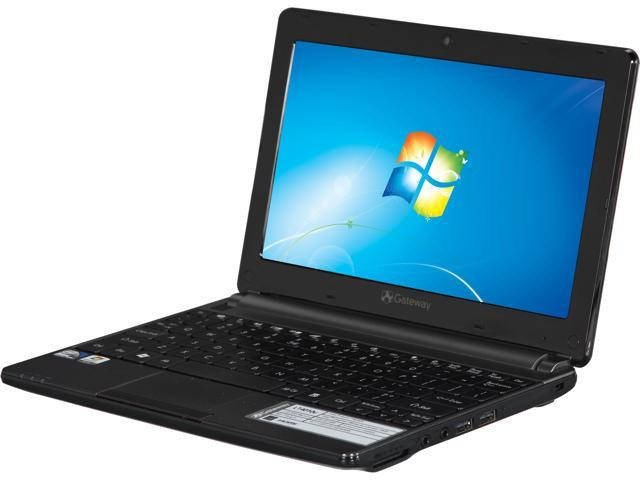 Gateway Laptop LT4010u Intel Atom N2600 (1.60 GHz) 1 GB Memory 320 GB HDD Intel GMA 3600 10.1