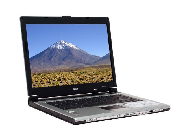 "Acer Aspire AS3004WLCi NoteBook AMD Mobile Sempron 3100+ 15.4"" Wide XGA 512MB Memory DDR333 60GB HDD DVD/CD-RW Combo SiS Mirage 2"