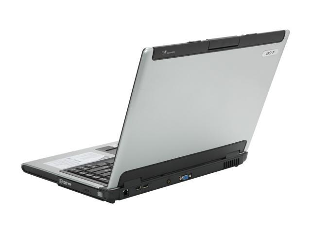 "Acer Aspire AS5100-3825 NoteBook AMD Turion 64 MK-36(2.00GHz) 15.4"" Wide XGA 1GB Memory DDR2 533 120GB HDD DVD Super Multi ATI Radeon Xpress 1100 IGP"