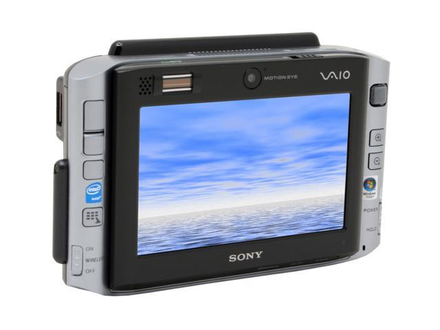 "SONY VAIO UX Series VGN-UX380N Ultra-Mobile PC Intel Core Solo U1500(1.33GHz) 4.5"" WSVGA 1GB DDR2 400 40GB 4200rpm Intel GMA950 Windows Vista Business"