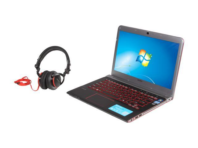 SONY Laptop VAIO SVE14A1HFXBC Intel Core i5 3210M (2.50 GHz) 8 GB Memory 750 GB HDD Intel HD Graphics 4000 14.0