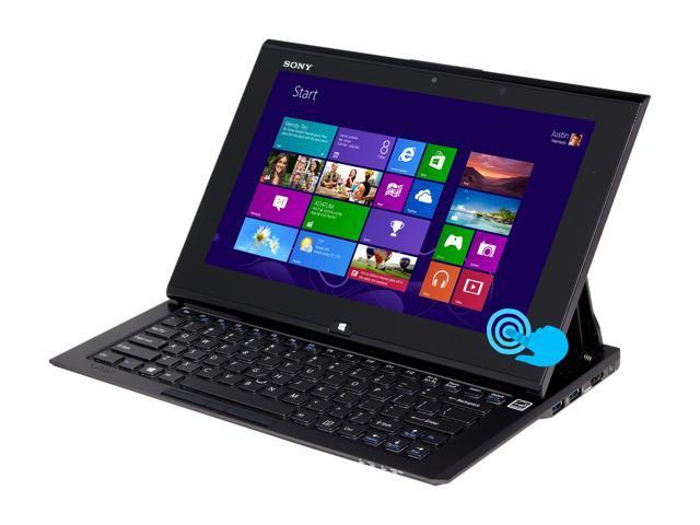 "SONY VAIO SVD11215CXB Intel Core i7 8 GB Memory 256 GB SSD 11.6"" Touchscreen Ultrabook Windows 8 64-bit"