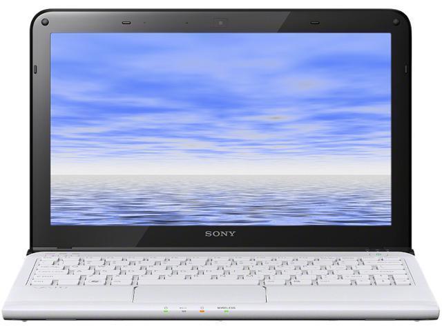 """SONY VAIO SVE11113FXW 11.6"""" Windows 7 Home Premium 64-Bit Laptop"""