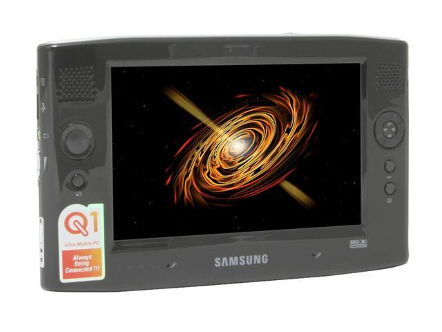 "SAMSUNG Q1P Ultra-Mobile PC Intel Pentium M 723(1.00GHz) 7"" WVGA 1GB 60GB Intel GMA900 Windows XP Tablet PC Edition"