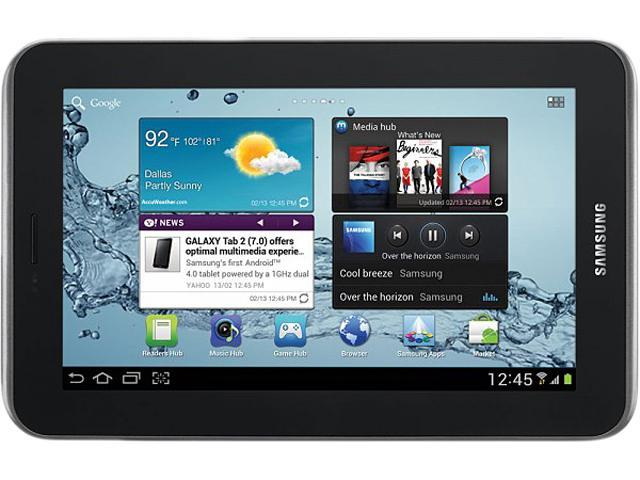 "SAMSUNG Galaxy Tab 2 7.0 8 GB 7.0"" Tablet PC"