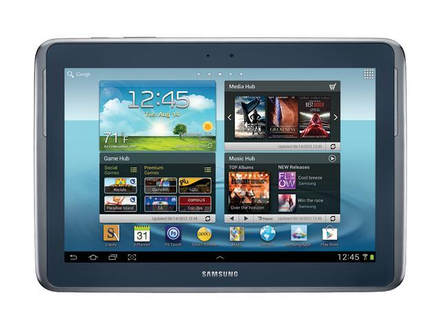 SAMSUNG Galaxy Note 10.1 Tablet PC - Samsung Exynos 1.40GHz -  2GB RAM - 16GB on-board Memory - Android 4.1 (Jelly Bean) - Deep Gray