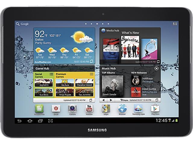 "SAMSUNG Galaxy Tab 2 (10.1) WiFi 16 GB 10.1"" Tablet PC - Titanium Silver"