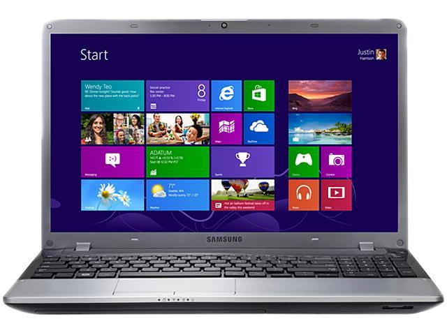 "SAMSUNG Notebook (Grade C) NP355E5C-A03US AMD Dual-Core Processor E2-1800 (1.7 GHz) 4 GB Memory 500 GB HDD 15.6"" Windows ..."