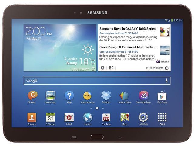 SAMSUNG Galaxy Tab 3 10.1 Intel Atom 1 GB Memory 16 GB 10.1
