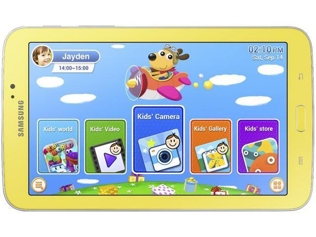 "SAMSUNG Galaxy Tab 3 Kids 8GB ROM 7.0"" Tablet"