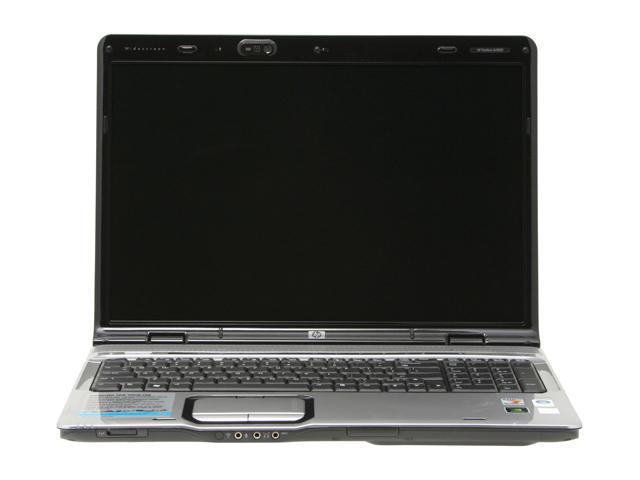 "HP Pavilion dv9205us (RP115UA) NoteBook AMD Turion 64 X2 TL-50(1.60GHz) 17.0"" Wide XGA+ 1GB Memory 120GB HDD 5400rpm DVD Super Multi NVIDIA GeForce Go 6150"