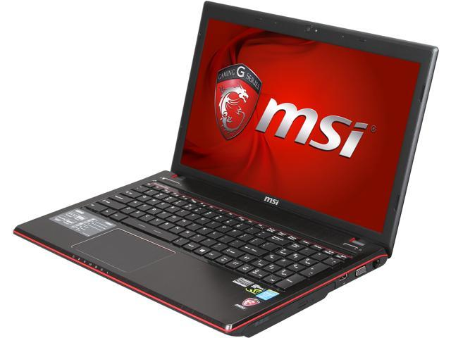 MSI GE Series GE60 2OE-003US Gaming Laptop Intel Core i7 4700MQ (2.40 GHz) 8 GB Memory 750 GB HDD NVIDIA GeForce GTX 765M 2GB GDDR5 15.6