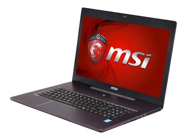 "MSI GS70 2OD-229US Gaming Laptop Intel Core i7 4700HQ 2.40GHz 17.3"" Windows 8"