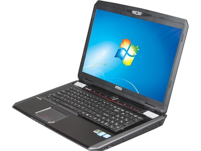 MSI GT Series GT70 2OLWS-683US Mobile Workstation Intel Core i7 4700MQ (2.40 GHz) 16 GB Memory 1 TB HDD NVIDIA Quadro K4100M 17.3