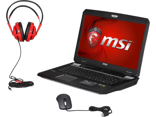 "MSI GT Series GT70 DominatorPro-1039 Gaming Laptop Intel Core i7-4930MX 3.0 GHz 17.3"" Windows 8.1 64-Bit"