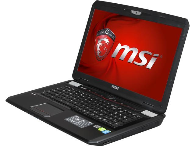 "MSI GT Series GT70 Dominator-892 Gaming Laptop Intel Core i7-4800MQ 2.7 GHz 17.3"" Windows 8.1 64-Bit"
