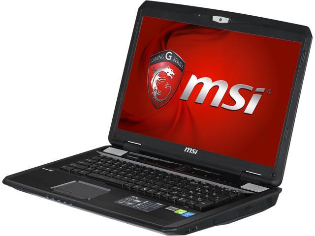 MSI GT Series GT70 Dominator-893 Gaming Laptop 4th Generation Intel Core i7 4800MQ (2.70 GHz) 16 GB Memory 1 TB HDD 128 GB SSD NVIDIA GeForce GTX 870M 6 GB 17.3