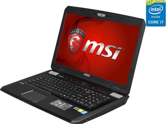 MSI GT Series GT70 Dominator-895 Gaming Laptop 4th Generation Intel Core i7 4800MQ (2.70 GHz) 8 GB Memory 1 TB HDD NVIDIA GeForce GTX 870M 3 GB 17.3