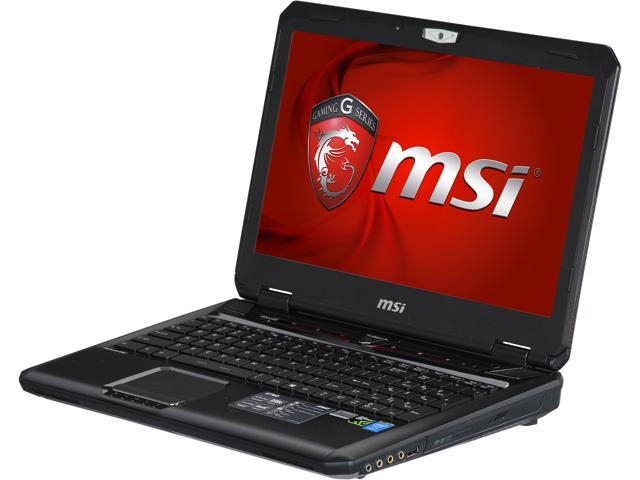 MSI GT Series GT60 Dominator-424 Gaming Laptop Intel Core i7 4800MQ (2.70GHz) 8GB Memory 1TB HDD NVIDIA GeForce GTX 870M 3GB 15.6