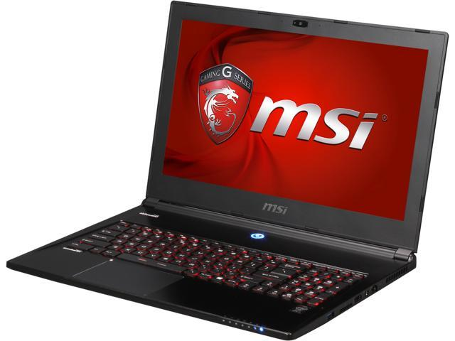 MSI GS Series GS60 Ghost-007 Gaming Laptop Intel Core i7 4700HQ (2.40 GHz) 12 GB Memory 750 GB HDD 128 GB SSD NVIDIA GeForce GTX 860M 2 GB 15.6
