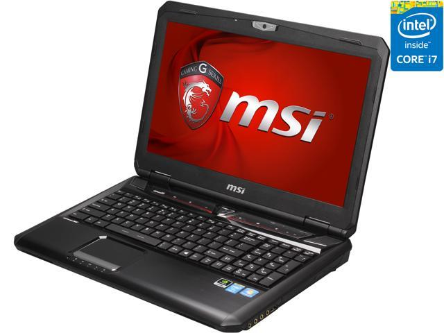 MSI GT Series GT60 2OKWS-674US Mobile Workstation Intel Core i7 4800MQ (2.70 GHz) 16 GB Memory 1 TB HDD 128 GB SSD NVIDIA Quadro K3100M 15.6
