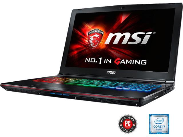 MSI GE Series GE62 Apache Pro-004 Gaming Laptop 6th Generation Intel Core i7 6700HQ (2.60 GHz) 16 GB Memory 1 TB HDD NVIDIA GeForce GTX 960M 2 GB GDDR5 15.6