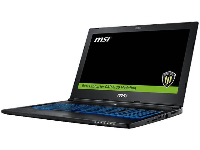 MSI WS60 6QJ-021US Mobile Workstation Intel Xeon E3-1505L v5 (2.00 GHz) 16 GB Memory 1 TB HDD 256 GB SSD NVIDIA Quadro M2000M 15.6