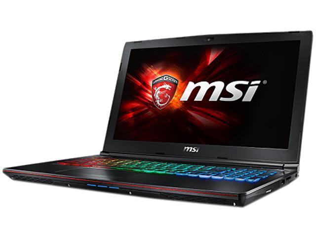 MSI GE Series GE62 6QD-274US Gaming Laptop Intel Core i7 6700HQ (2.60 GHz) 16 GB Memory 1 TB HDD 128 GB SSD NVIDIA GeForce GTX 960M 2 GB GDDR5 15.6