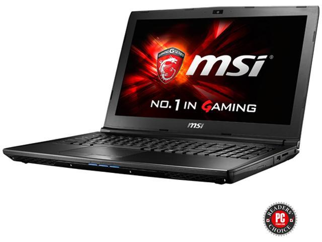 MSI GL62 6QF-628 Gaming Laptop Intel Core i5 6300HQ (2.30 GHz) 8 GB Memory 1 TB HDD NVIDIA GeForce GTX 960M 2 GB GDDR5 15.6