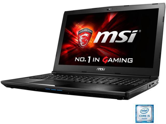 MSI CX62 6QD-047US Gaming Laptop Intel Core i5 6300HQ (2.30 GHz) 8 GB Memory 1 TB HDD NVIDIA GeForce 940MX 2 GB GDDR3 15.6