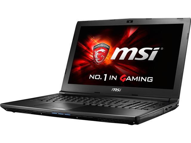 MSI GL62 6QD-018CA Gaming Laptop Intel Core i7 6700HQ (2.60 GHz) 8 GB Memory 1 TB HDD NVIDIA GeForce GTX 950M 2 GB GDDR3 15.6