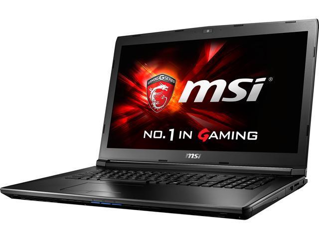 MSI GL72 6QC-025CA Gaming Laptop Intel Core i5 6300HQ (2.30 GHz) 8 GB Memory 1 TB HDD NVIDIA GeForce 940MX 2 GB GDDR3 17.3