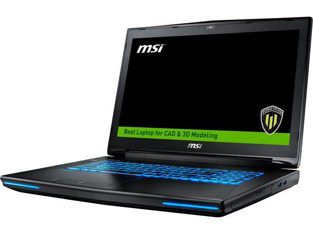 MSI WT72 6QN-219US Laptop 6th Generation Intel Core i7 6820HQ (2.70 GHz) 32 GB Memory 1 TB HDD Super RAID 4 256 GB SSD (128 GB x2) NVIDIA Quadro M5500 17.3