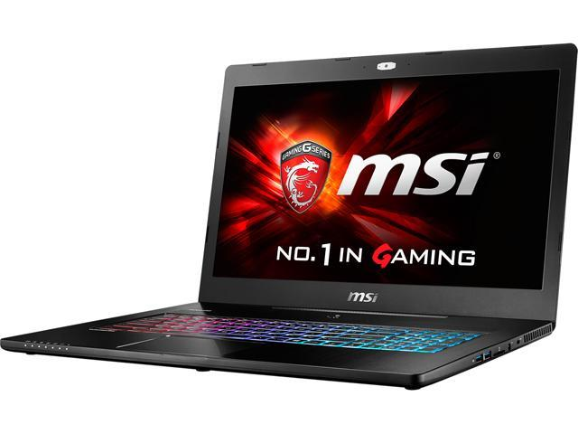 MSI GS Series GS72 Stealth Pro-425 Gaming Laptop Intel Core i7 6700HQ (2.60 GHz) 16 GB Memory 1 TB HDD 512 GB SSD NVIDIA GeForce GTX 970M 3 GB GDDR5 17.3
