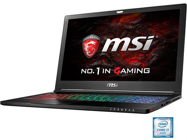 "MSI 15.6"" GS63VR Stealth Pro-041 Intel Core i7 6700HQ (2.60 GHz) NVIDIA GeForce GTX 1060 32 GB Memory 128 GB SSD 1 TB HDD Windows 10 Home 64-Bit Gaming Laptop VR Ready - ""ONLY @ NEWEGG&#3"