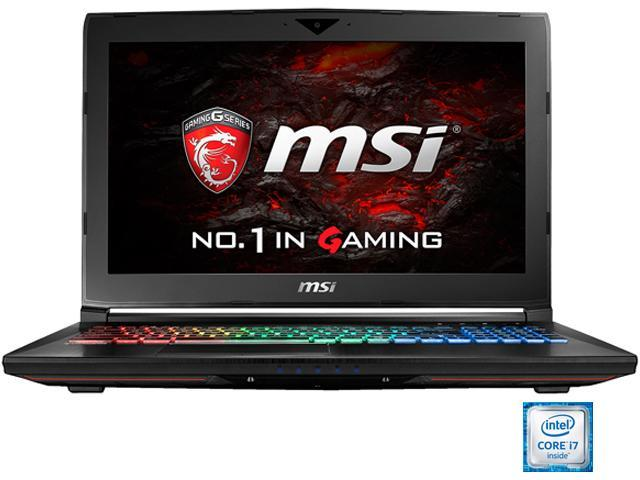 "MSI 15.6"" GT62VR Dominator Pro-005 Intel Core i7 6700HQ (2.60 GHz) NVIDIA GeForce GTX 1070 32 GB Memory 256 GB SSD 1 TB HDD Windows 10 Home 64-Bit G-Sync Gaming Laptop VR Ready"