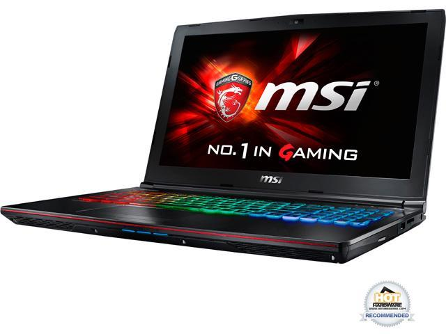 "MSI 15.6"" GE62VR Apache Pro-024 Intel Core i7 6700HQ (2.60 GHz) NVIDIA GeForce GTX 1060 12 GB Memory 256 GB SSD 1 TB HDD Windows 10 Home 64-Bit Gaming Laptop VR Ready - ""ONLY @ NEWEGG&#34"