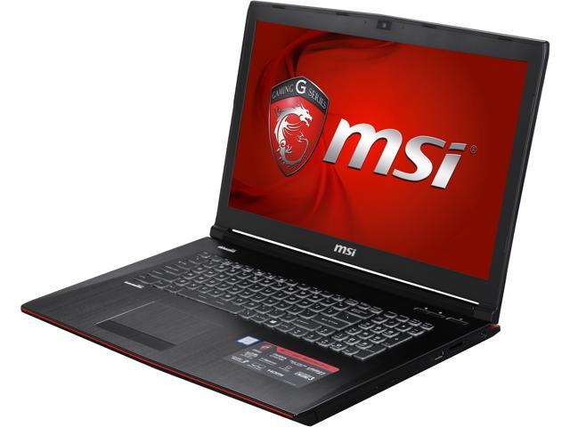 "Refurbished: MSI 17.3"" GE72 Apache Pro-070 Intel Core i7 6700HQ (2.60 GHz) NVIDIA GeForce GTX 970M 16 GB Memory 128 GB SSD 1 TB HDD Windows 10 Home 64-Bit Gaming Laptop"