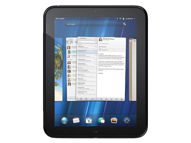 HP TouchPad Wi-Fi 32GB Qualcomm Snapdragon dual-core 1 GB Memory 32GB Storage 9.7
