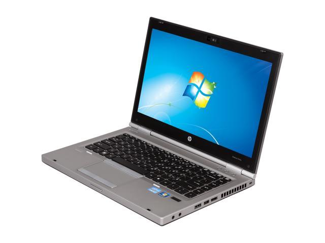 HP Laptop EliteBook 8460p (LJ540UT#ABA) Intel Core i5 2450M (2.50 GHz) 4 GB Memory 500 GB HDD Intel HD Graphics 3000 14.0