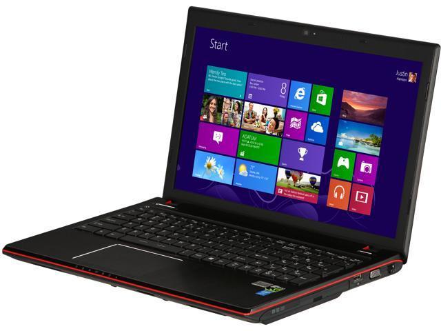 "CyberpowerPC Gaming Laptop Intel i7-4700MQ 2.4GHz 15.6"" Windows 8.1"