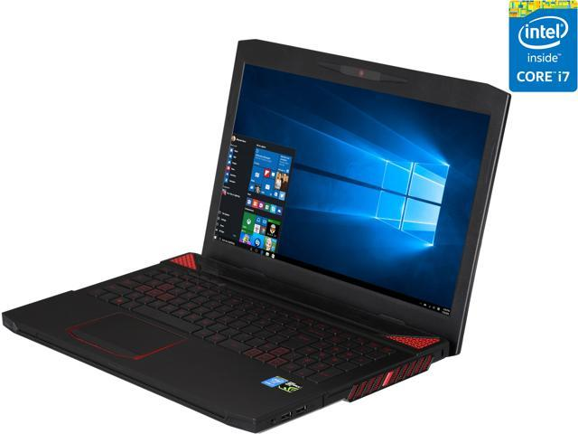 "CyberpowerPC 15.6"" Fangbook III HX6-266 Intel Core i7 4710MQ (2.50 GHz) NVIDIA GeForce GTX 960M 8 GB Memory 256 GB SSD Windows 10 Home 64-Bit Gaming Laptop"