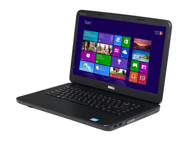DELL Laptop Inspiron 15 (i15-3182BK) Intel Core i3 2370M (2.40 GHz) 6 GB Memory 750 GB HDD Intel HD Graphics 3000 15.6