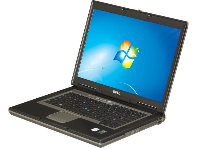 DELL Laptop Latitude D830 Intel Core 2 Duo 1.80 GHz 2 GB Memory 60 GB HDD 15.4