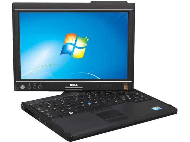 DELL Notebook (no Optical) Latitude XT2 Intel Core 2 Duo 1.60GHz 2GB Memory 120GB HDD 12.1