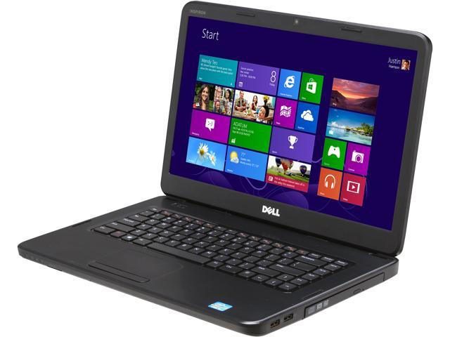 DELL Laptop Inspiron i15-1821BK Intel Core i3 2370M (2.40 GHz) 4 GB Memory 500 GB HDD Intel HD Graphics 3000 15.6
