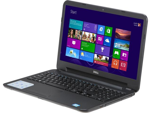 "DELL Laptop Inspiron i15RV-3763BLK Intel Core i3 3227U (1.90 GHz) 4 GB Memory 500 GB HDD Intel HD Graphics 4000 15.6"" Windows ..."